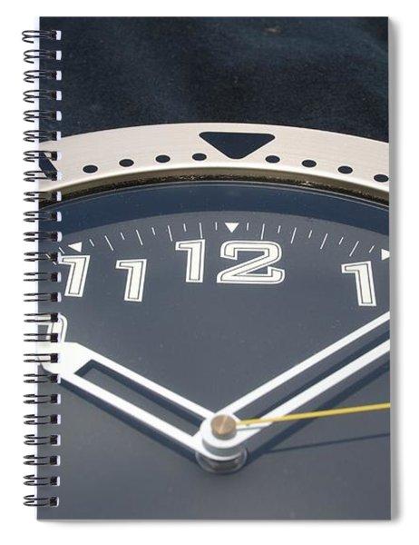 Clock Face Spiral Notebook