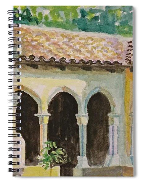 Cloister, Nyc Spiral Notebook