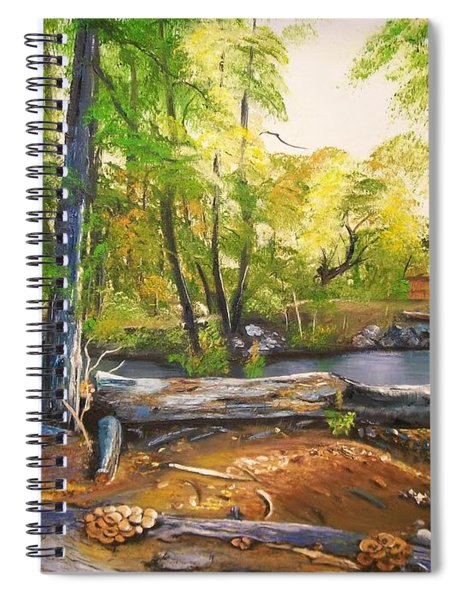 Close To God's Nature Spiral Notebook