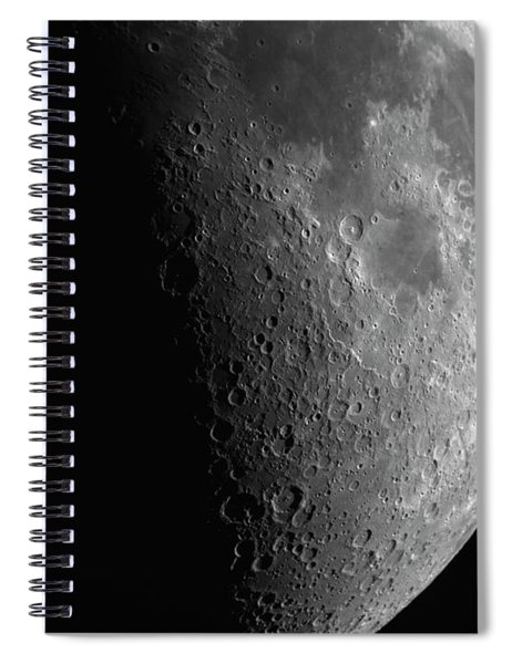 Close-up Of Moon Spiral Notebook
