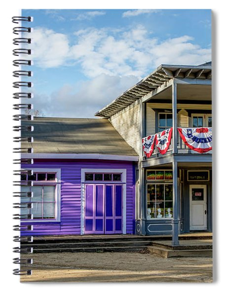 Closed For Holiday Spiral Notebook