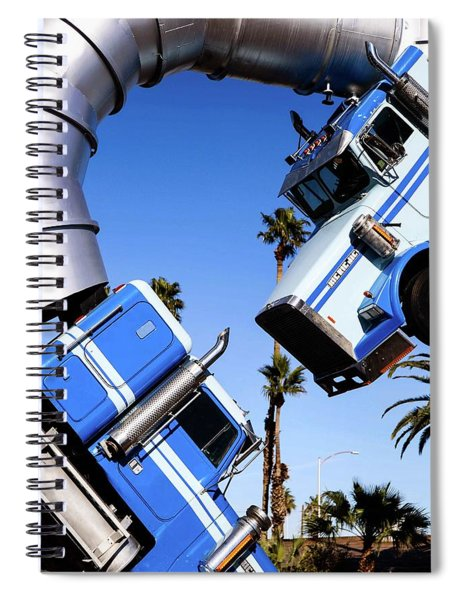 Closeup On Big Rig Jig Spiral Notebook