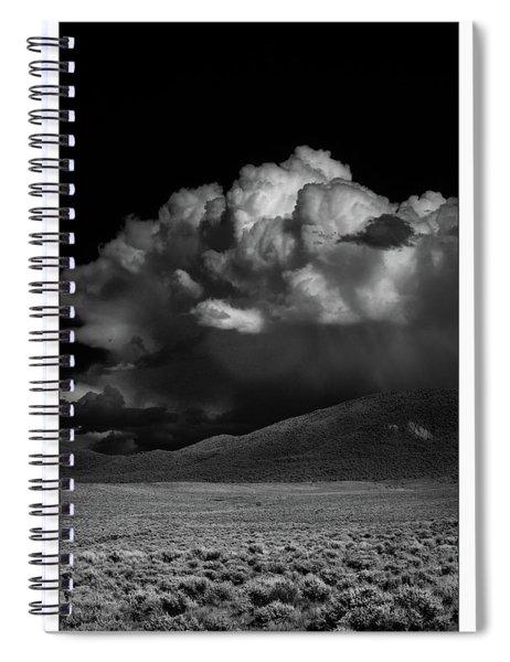 Cloud Burst Spiral Notebook