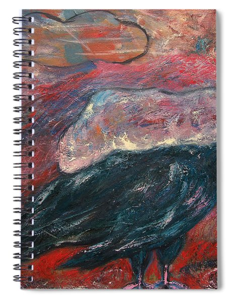 Cloud Carrier Spiral Notebook