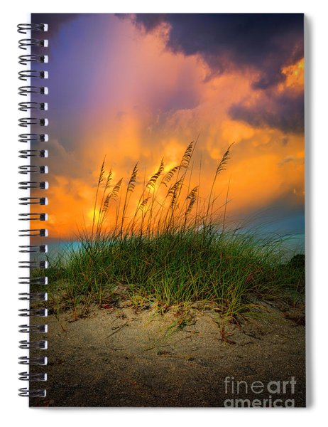 Cloud Colors Spiral Notebook