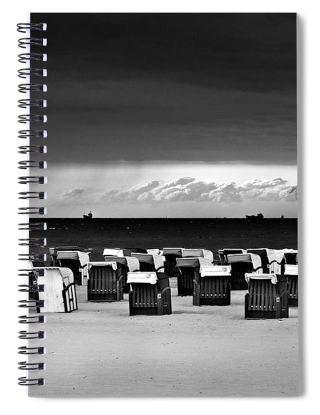 Cloud Drama Before The Storm Spiral Notebook