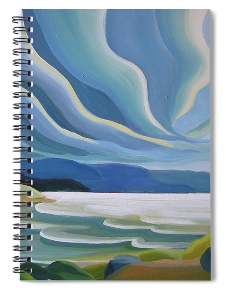 Cloud Forms Spiral Notebook