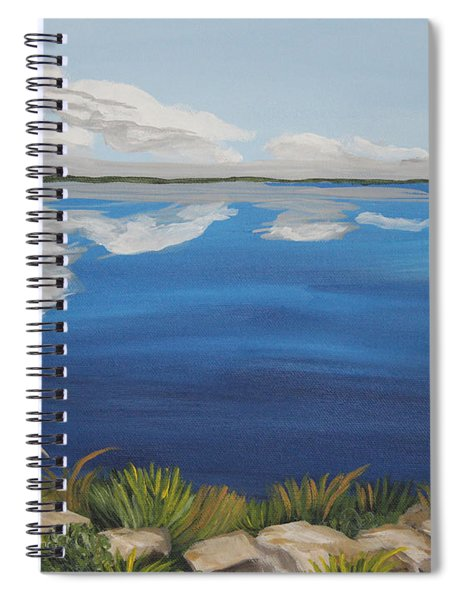 Cloud Lake Spiral Notebook