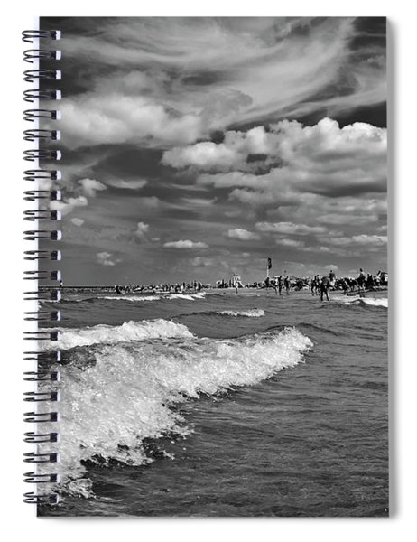 Cloud Sound Drama Spiral Notebook