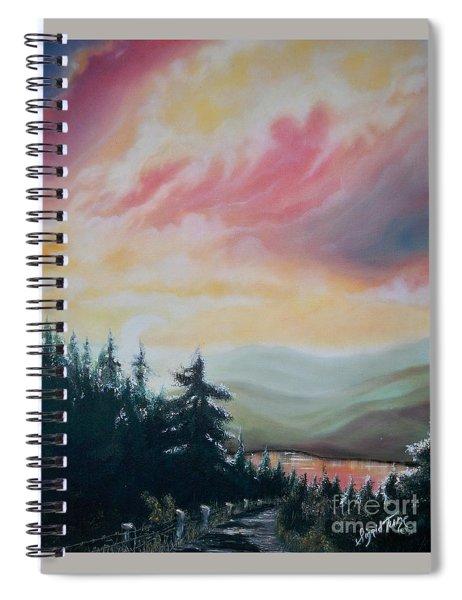 Blue Cat Productions               Cloud Spirit Spiral Notebook