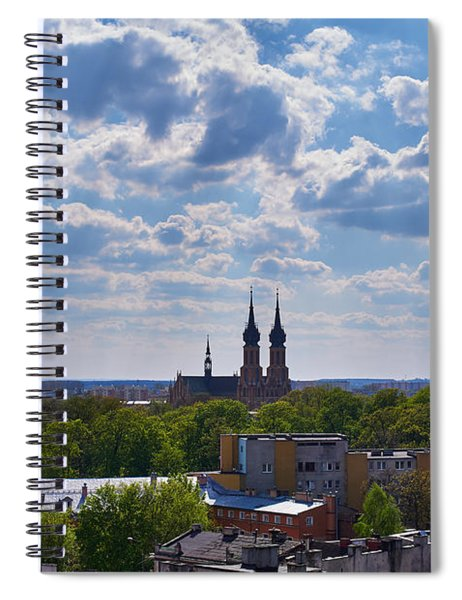 Cloud Ticklers Spiral Notebook