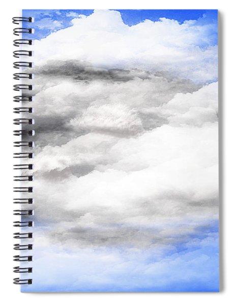 Clouds 2 Spiral Notebook