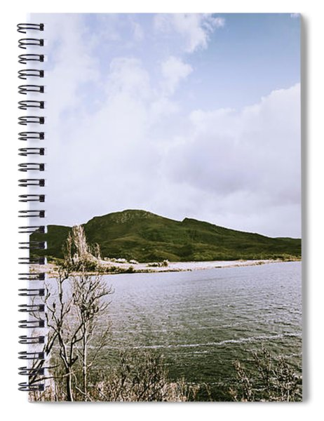 Clouds And Calm Waters Spiral Notebook