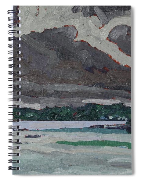 Clouds And Drizzle Spiral Notebook