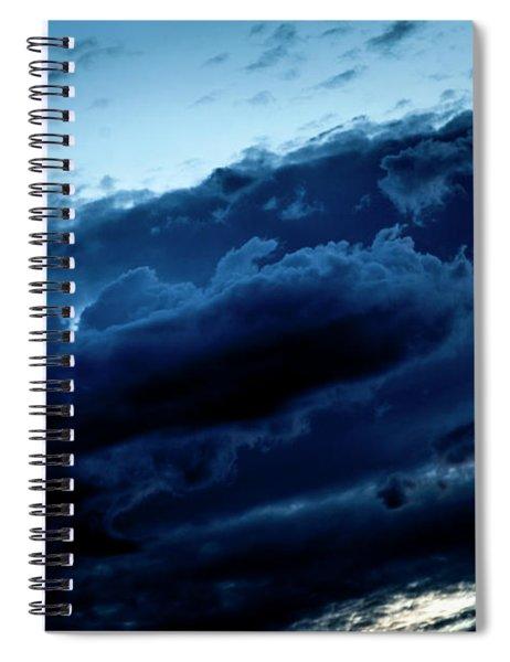 Clouds Fall Spiral Notebook