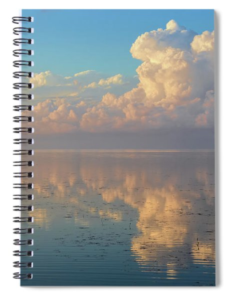 Clouds On The Water Spiral Notebook