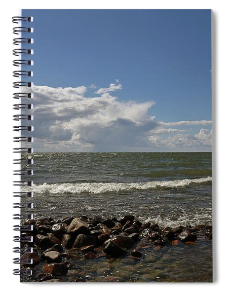 Clouds Over Sea Spiral Notebook