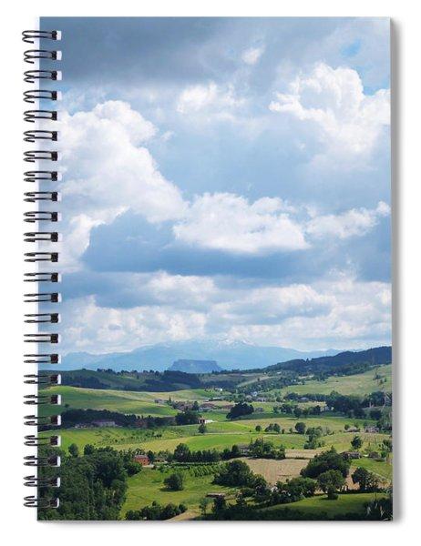 Cloudy Sky Spiral Notebook