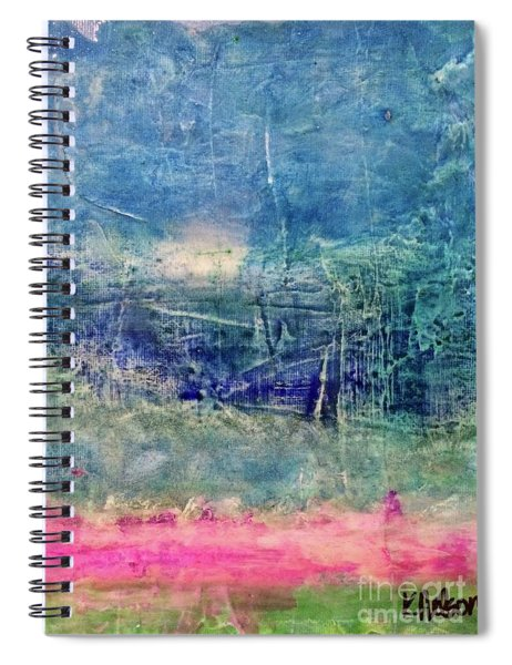 Clover Field Spiral Notebook