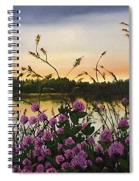 Clover Sunrise  Spiral Notebook