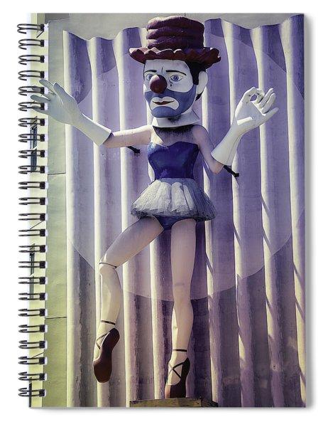 Clown Ballerina Spiral Notebook