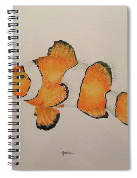 Clown Fish Spiral Notebook