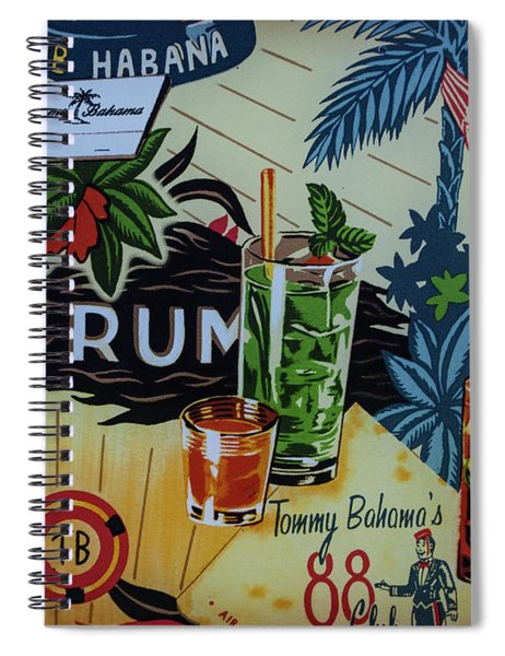 Club Habana Spiral Notebook