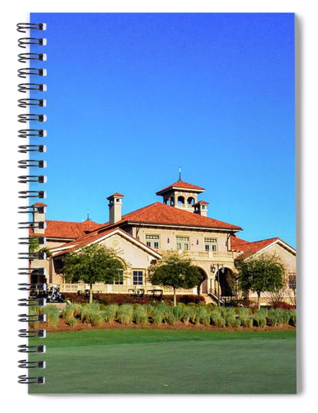 Clubhouse At Tpc Sawgrass Spiral Notebook