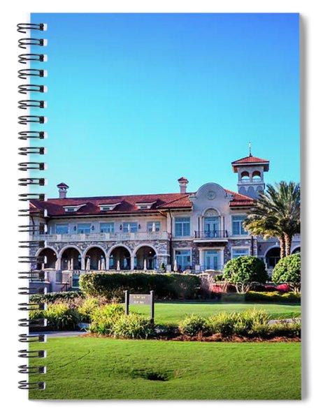 Clubhouse Tpc Sawgrass Spiral Notebook