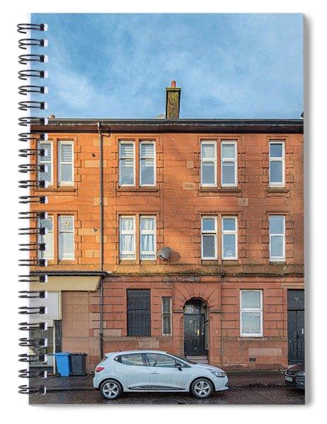Clydebank Sandstone Tenement Spiral Notebook