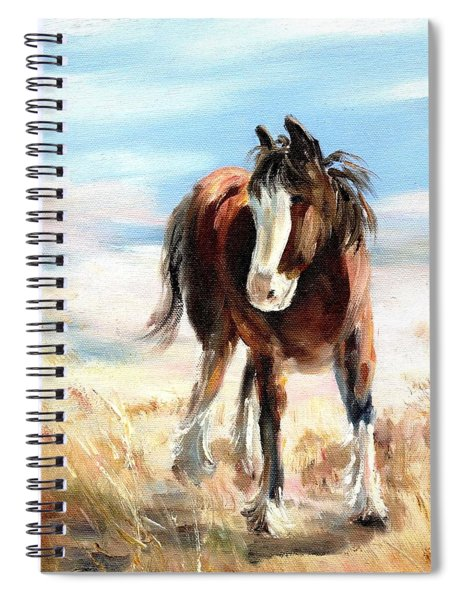 Clydesdale Foal Spiral Notebook