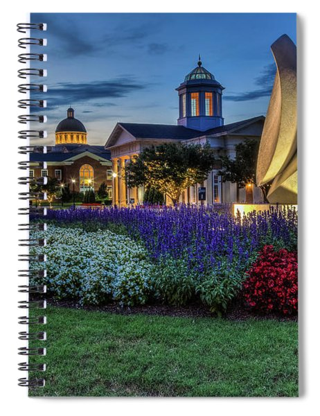 C N U Campus From Avenue Of The Arts Spiral Notebook