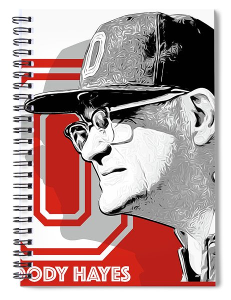 Coach Woody Hayes Spiral Notebook