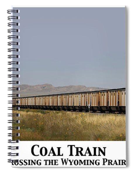 Coal Train Spiral Notebook
