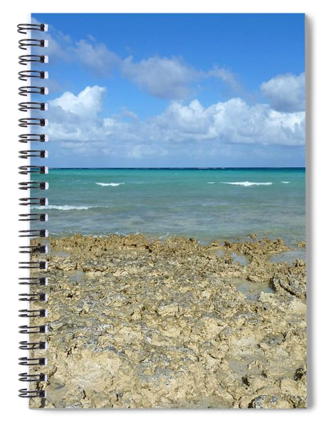 Coast Sea And Sky Spiral Notebook