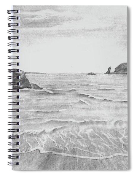 Coastal Beach Spiral Notebook
