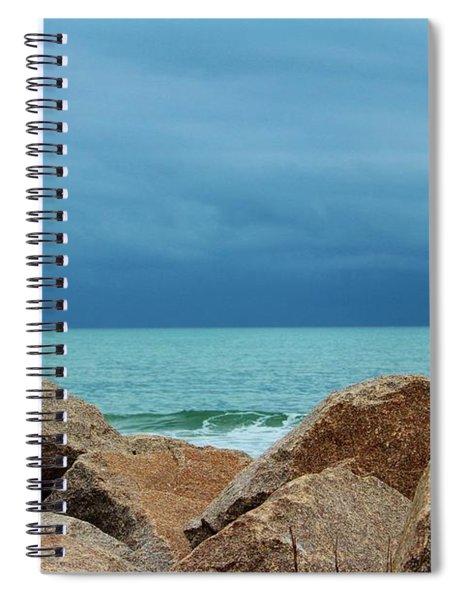 Coastal Blues Spiral Notebook
