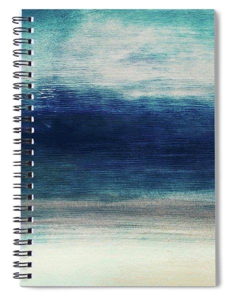 Coastal Escape 2- Art By Linda Woods Spiral Notebook
