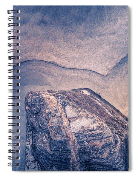 Coastal Rocks Spiral Notebook