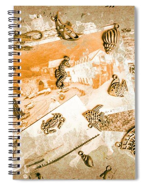 Coastal Romantics Spiral Notebook