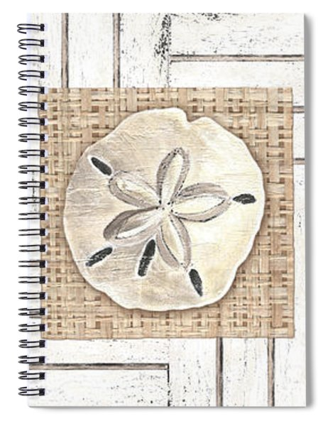 Coastal Shells 1 Spiral Notebook