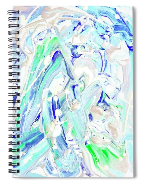 Coastal Splash Spiral Notebook