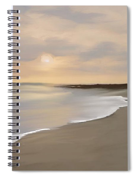 Coastal Sunrise Spiral Notebook