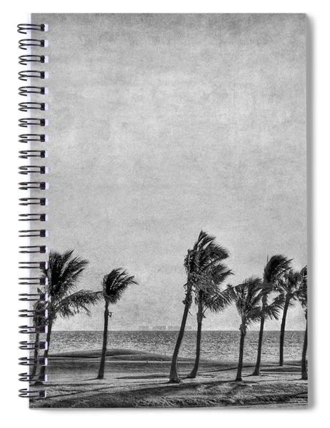 Coastal Winds Spiral Notebook