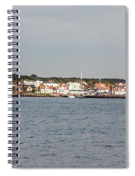 Coastline At Molle In Sweden Spiral Notebook