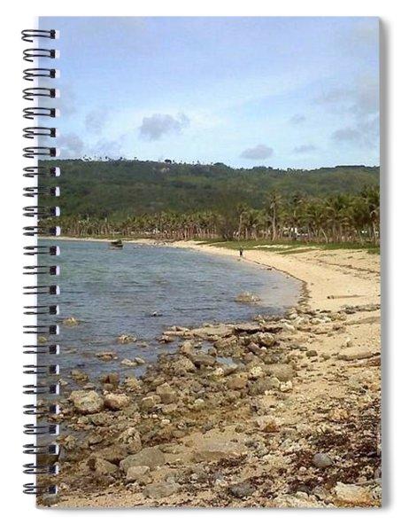 Coastline In Guam II Spiral Notebook