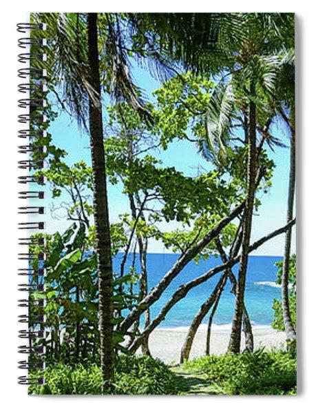 Coata Rica Beach 1 Spiral Notebook