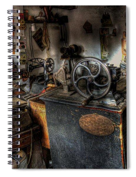 Cobbler's Shop Spiral Notebook