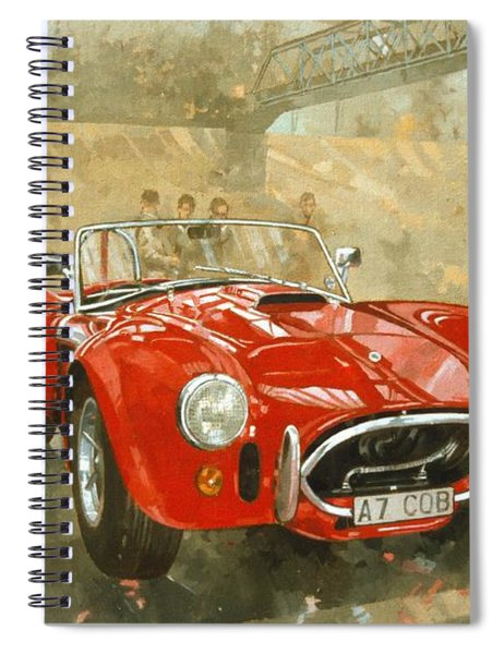 Cobra At Brooklands Spiral Notebook