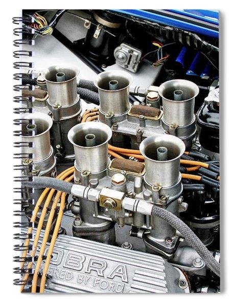 Cobra Power With Weber Carbs Spiral Notebook
